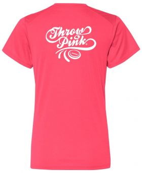 Throw Pink Ladies Core Performance V-Neck