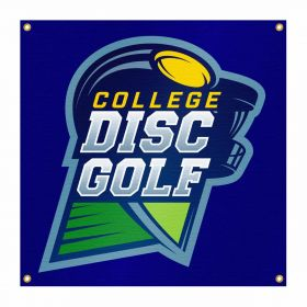 College Disc Golf Vinyl Banner