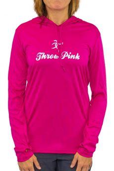 Throw Pink Ladies Hoodie Tee