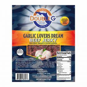 DoubleG Craft Beef Jerky Garlic Lovers Dream