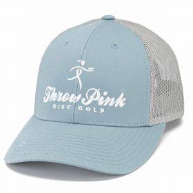 Throw Pink Low Pro Mesh Trucker Hat