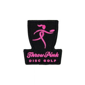 Throw Pink Basket Patch