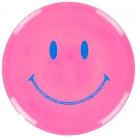 Throw Pink Star Mako3 - Smiley