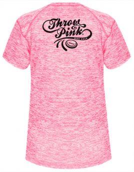 Throw Pink Ladies Performance Crew Tee