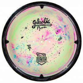 College Disc Golf Bottom Stamp Galactic XT Nova