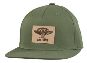 Air Force Patch Flat Bill Hat