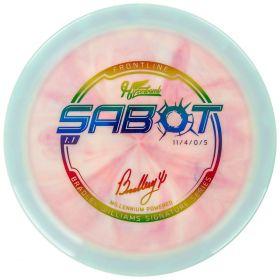 Bradley Williams Swirly Frontline Sabot
