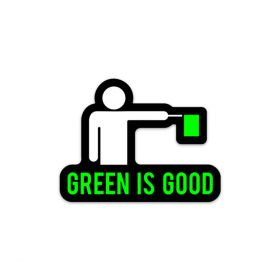 USDGC Green is Good Sticker