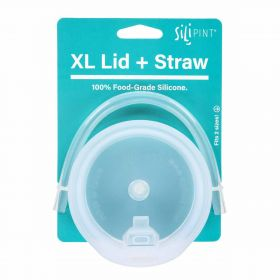 XL Silipint Lid and Straw Bundle