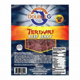 DoubleG Craft Beef Jerky Teriyaki