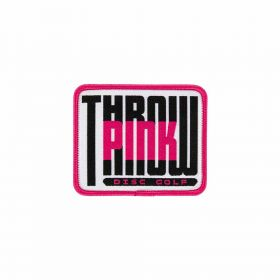 Throw Pink Bevel Patch