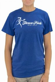 Throw Pink Recover Blend Ribbon Tee