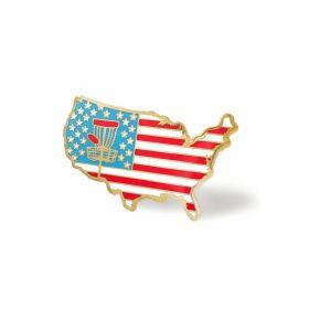 USA Disc Golf Pin