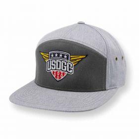 USDGC Wings Flatbill Hat