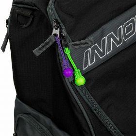 DiscDot Zipper Pulls