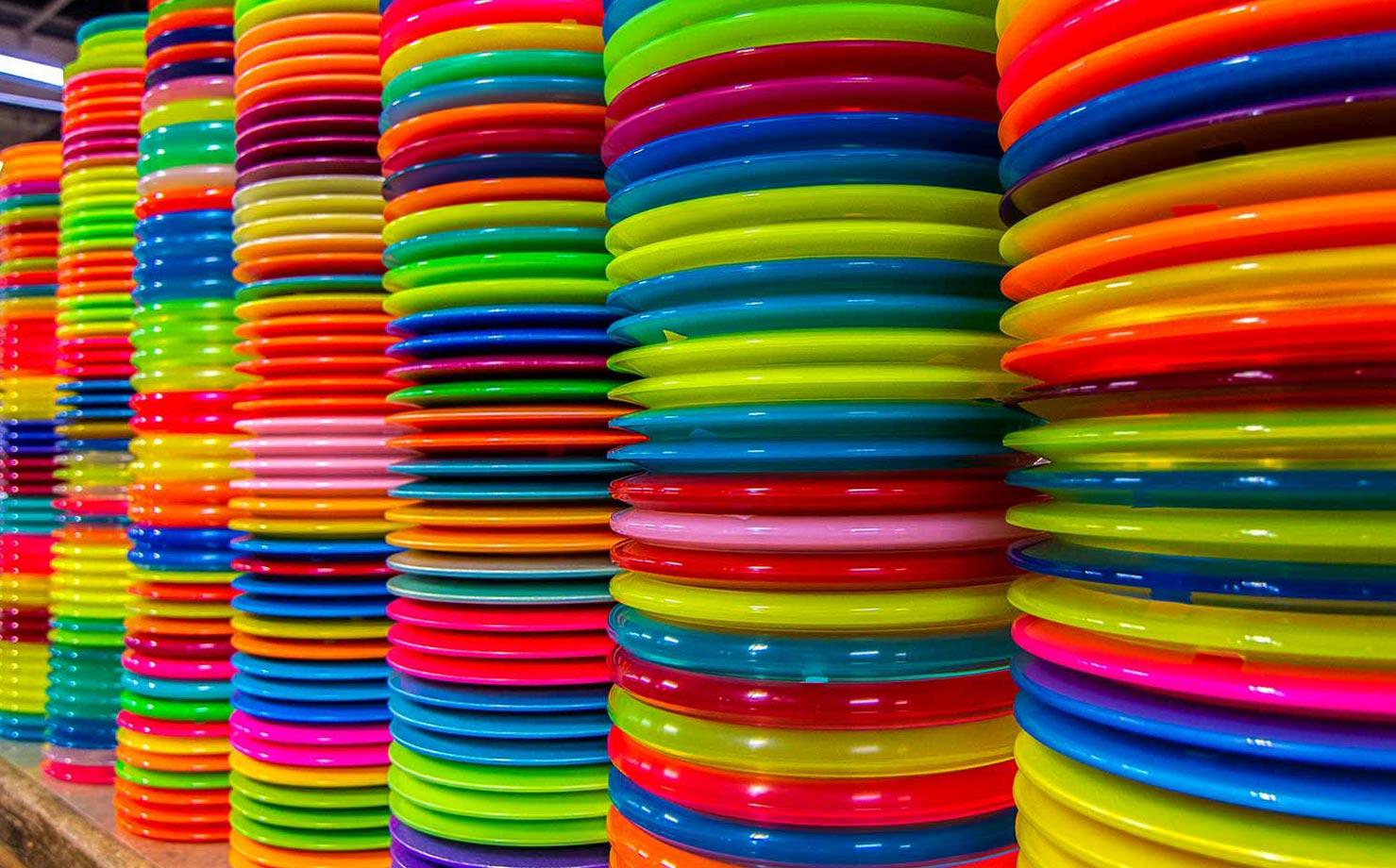 Stack of Innova Discs