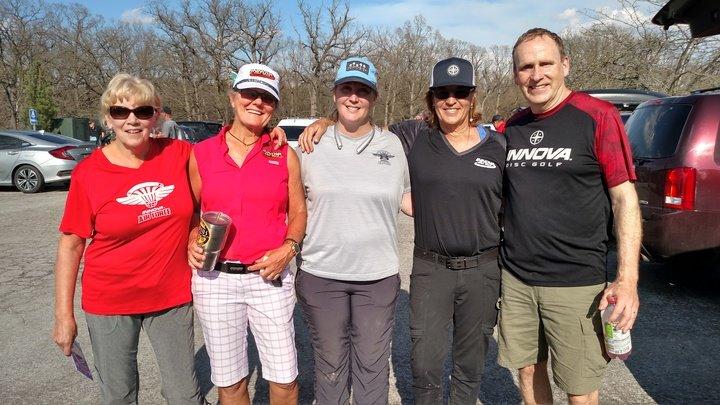 Disc golf club members